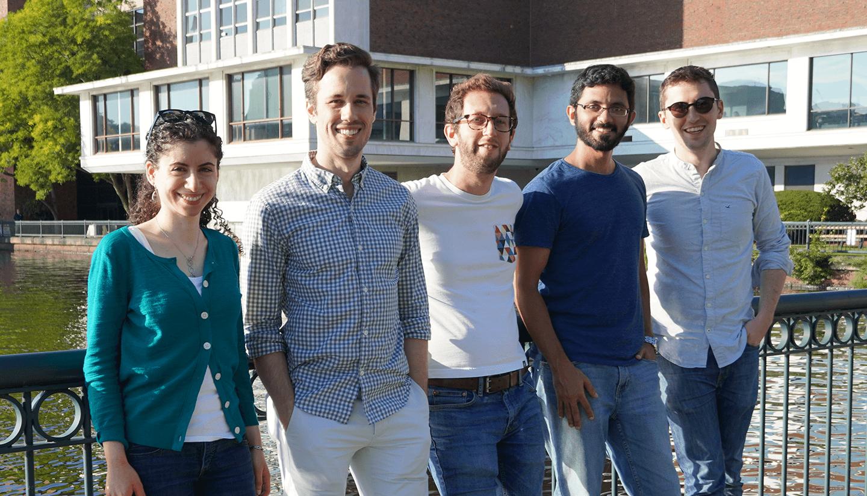 Group photo of department members.