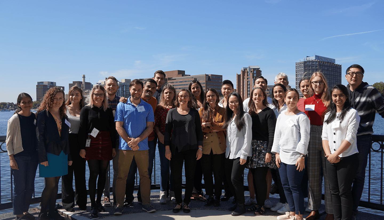 Group photo of the Arlotta lab.