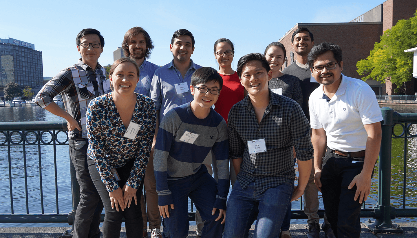 Group photo of the Buenrostro lab.
