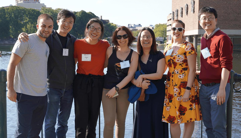 Group photo of the Hsu lab.