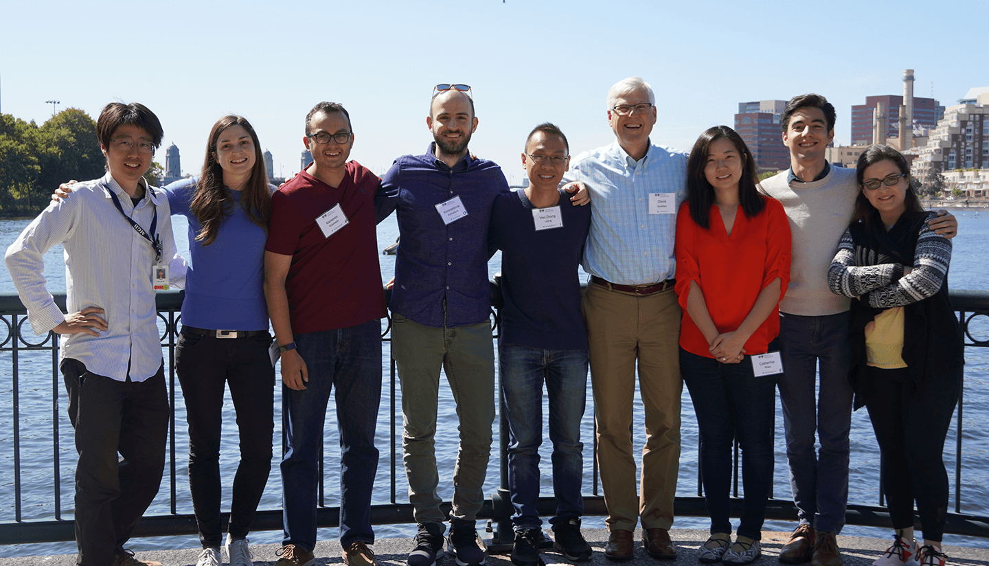 Group photo of the Scadden lab.